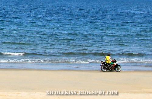 cool beach biker