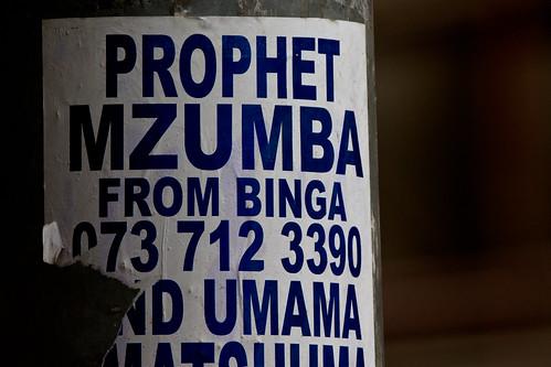 Jozi walkabout - Bingeing on the prophet