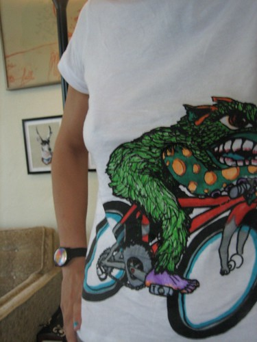 100801. monsters on bicycles.