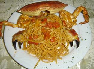 Linguine al Granchione