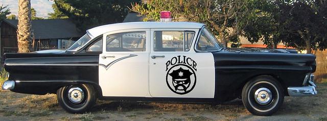 Grumpy Cop Car