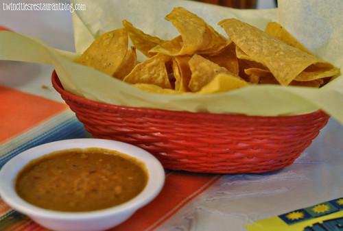 Chips & Bean Dip @ Casa Chapala ~ Austin, TX