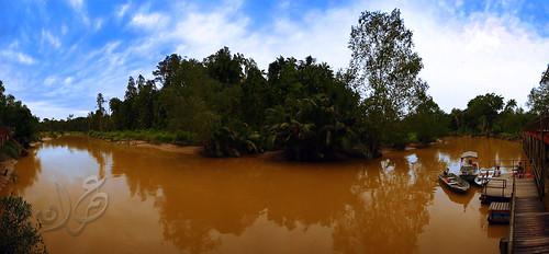Panorama Pengkalan Nelayan Sungai Timun, Linggi, Negeri Sembilan