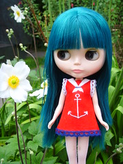 Ava in Barbara Hepworth Garden