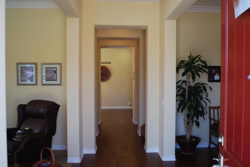 8139 Platinum Foyer  wood floors