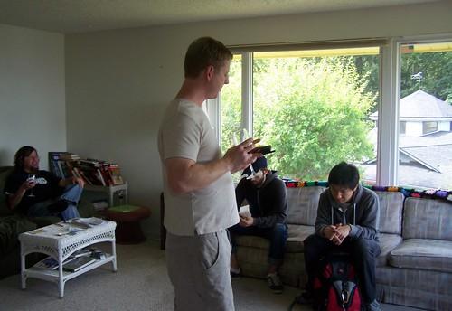 aug 009 Its' the Rick Alden's Calling Lucas party!