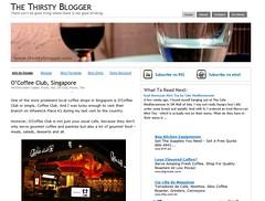 Thirsty Blogger