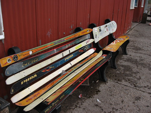 Ski Bench, Telluride, Colorado by Ken Lund, on Flickr