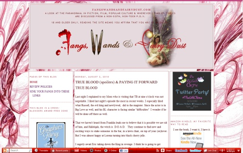 Fangs Wands and Fairy Dust Blog
