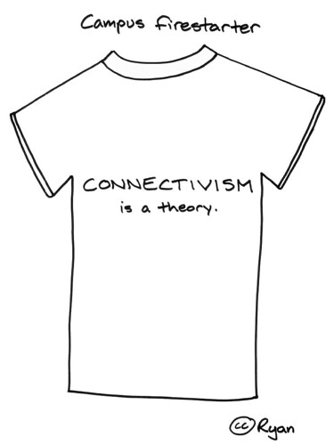 Campus firestarter: Connectivism is a theory.