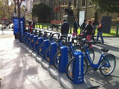 Melbourne's new bike sharing scheme