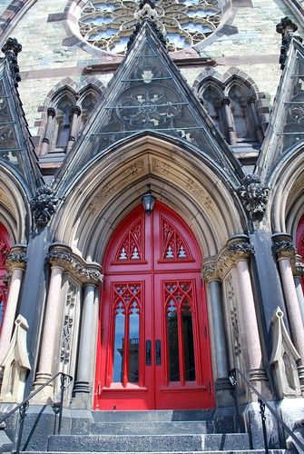 Doors of the Mount Vernon Place United Methodist Church