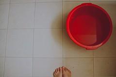 No Water (Jelena Ardila) Tags: bathroom bucket ponchera mytinitinyfeet