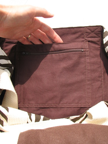 Zebra-print Tote Bag