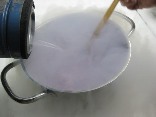 more liquid nitrogen