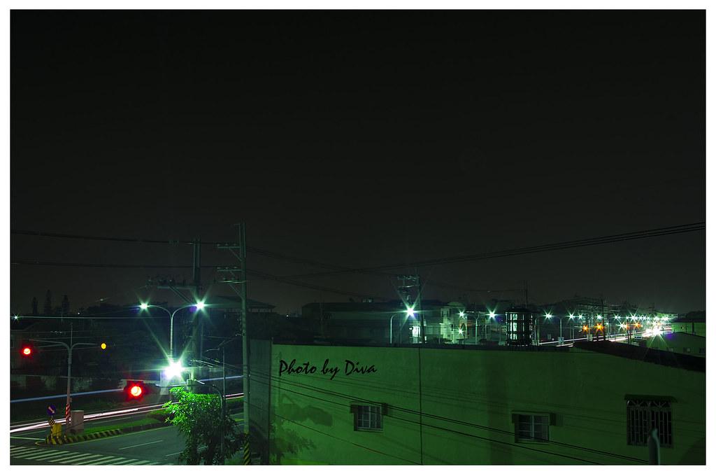半夜休閒打路燈+日出