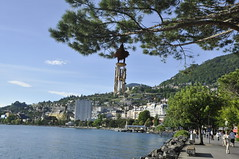 Montreux (webeagle12) Tags: lake mountains alps switzerland pier europe geneva swiss montreux