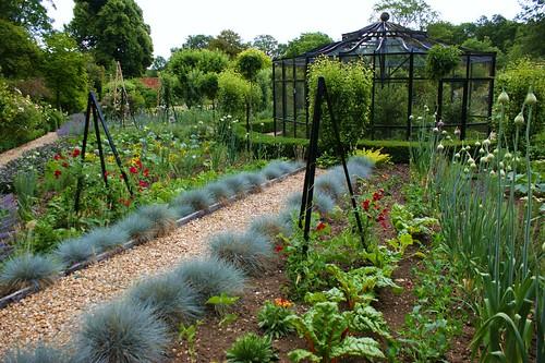 Garden Walls Walled Kitchen Garden With