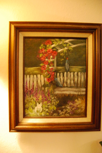 Painting by Aunt Mildred