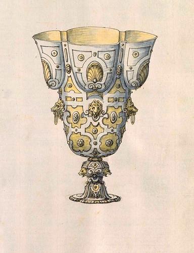 004-Copa-Entwürfe für Prunkgefäße in Silber mit Gold-BSB Cod.icon.  199 -1560–1565- Erasmus Hornick