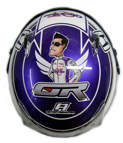 Graham Rahal Custom Cartoon