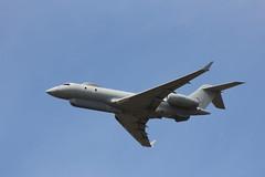 RAF Bombardier Sentinel R1 ZJ691 (SpixPix) Tags: plane airplane aircraft aviation farnborough raf avion sentinel aeronautics bombardier zj691 spixpix stuartspicer