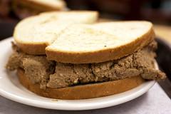 liver sandwich @ katz's