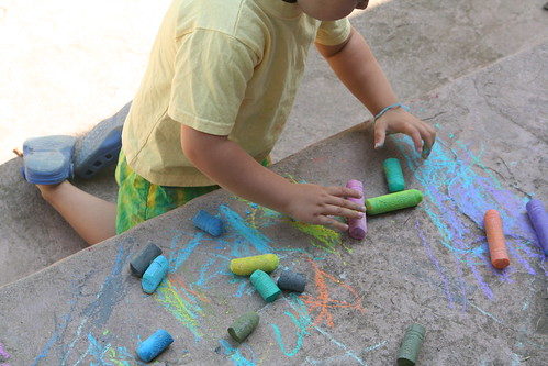 Asher Loves the Chalk