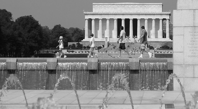 Lincoln Memorial 4 par Franck Vervial