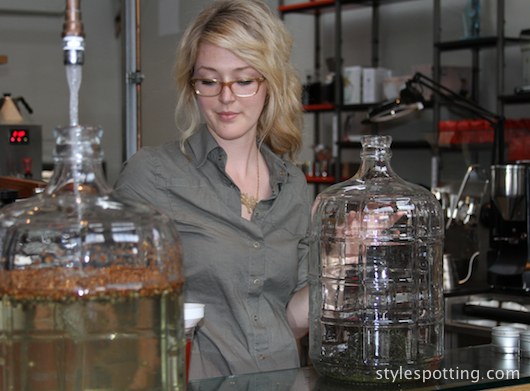 Rebecca's Chemistry at Intelligentsia Coffee & Tea in Venice, CA