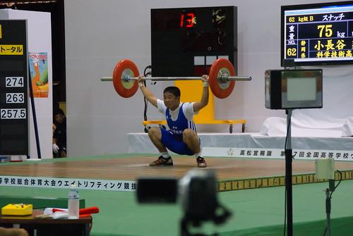 2010沖縄総体  小長谷建選手の記録