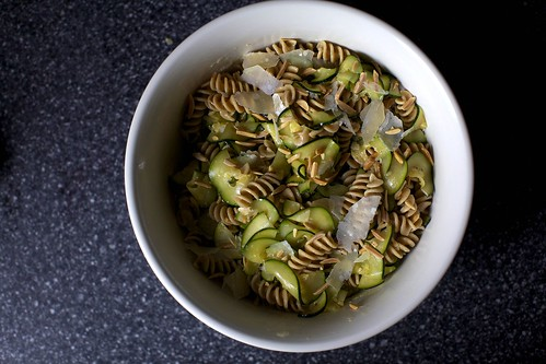 zucchini and almond pasta salad | smitten kitchen