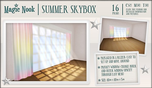 [MAGIC NOOK] Summer Skybox