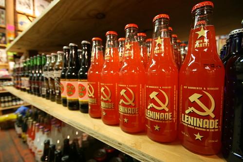Rocket Fizz: Leninade soda