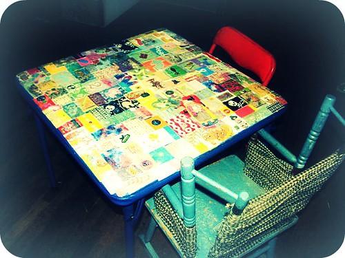 table podge