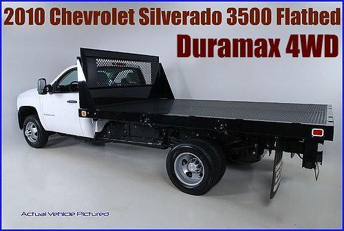 chevrolet silverado picnik 2010 flatbed 3500