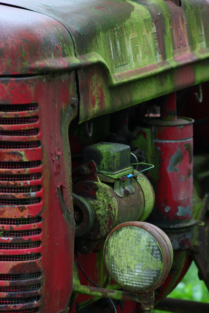 Old Tractor and Old Story