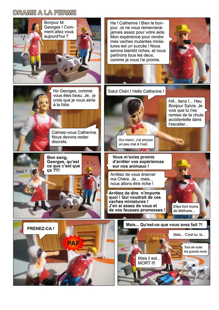 Drame a la ferme - Page 1
