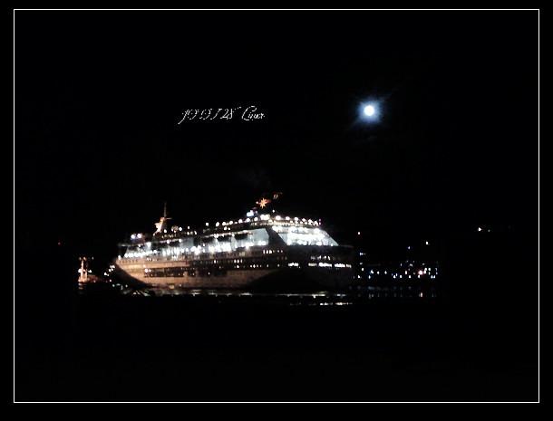 基隆港的麗星郵輪