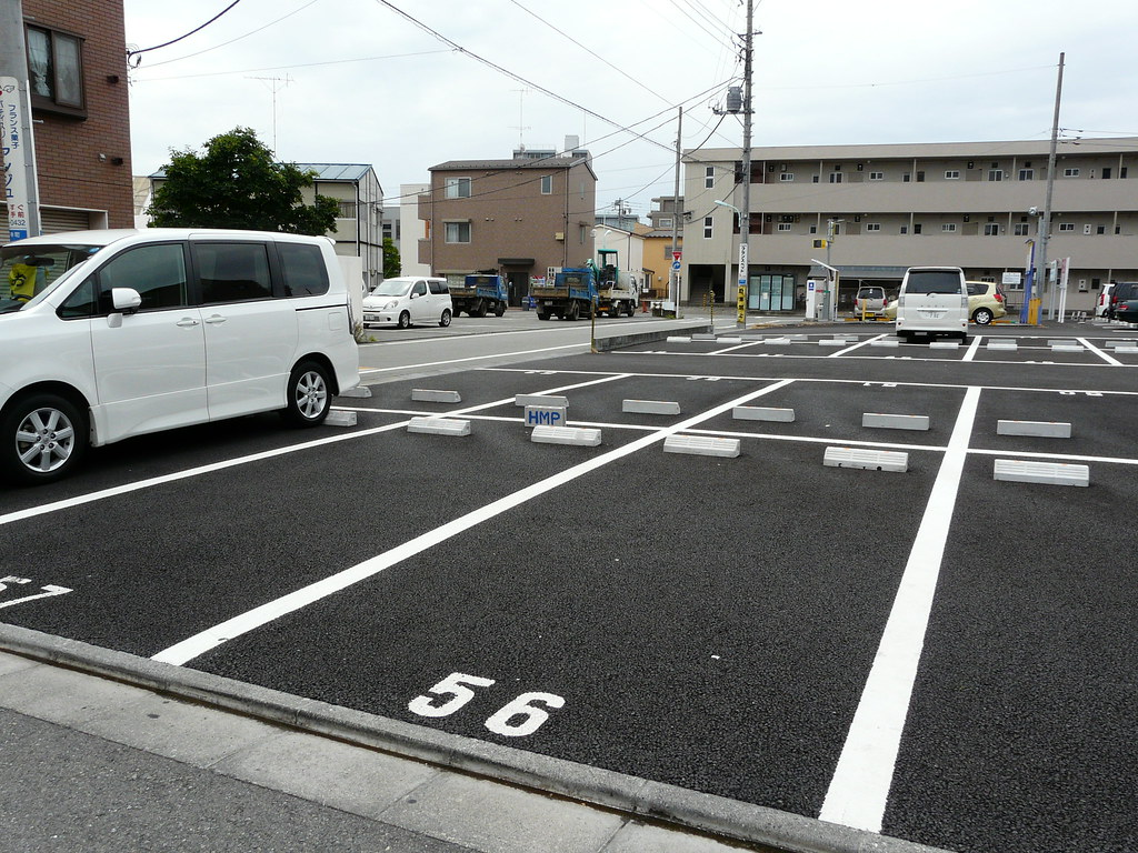 Parking Space Demarcation in Breeze Block