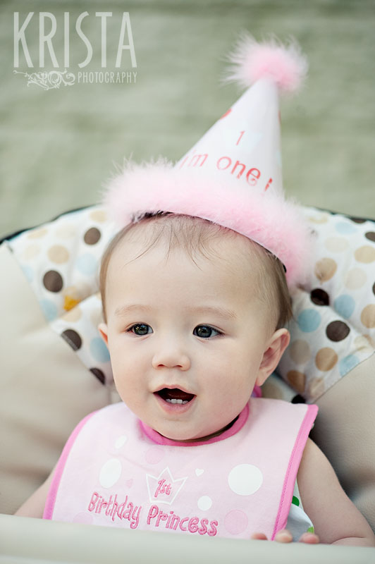 Chloe's First Birthday Party