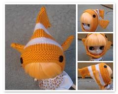 Nemo Clownfish hat