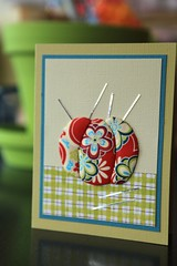 Japanese Paper Quilting- August 2010 (Craft Fancy) Tags: card cardclass craftfancy japanesepaperquilting