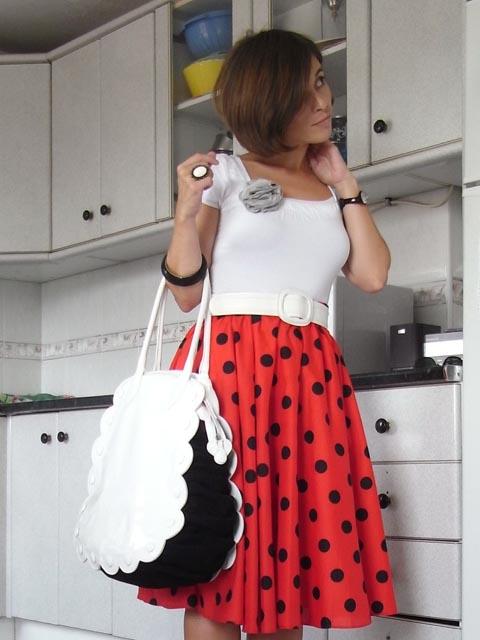 Ladybug skirt