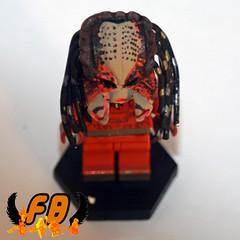 Predator Without Mask Overview (Brick Mercenaries Custom Minifigures) Tags: amazing lego mini creation figure custom armory minifigure moc brickarms brickforge