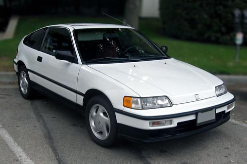 1991 Honda Civic CRX Si Front 3q