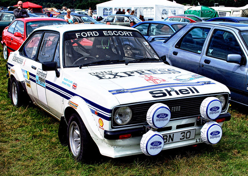 WOODVALE RALLY 2010 ~ FORD ESCORT RS 2000.