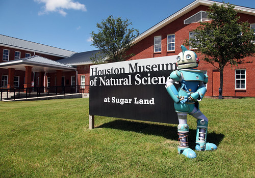 HMNS at Sugar Land: ROBOTS!