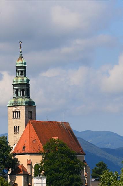 Blue sky, in Salzburg?! Ja Ja