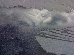 La strada delle nuvole (picturehunter1911) Tags: strada nuvole acqua pozzanghera